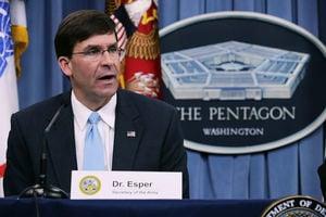 特朗普提名鷹派人物艾斯博 出任國防部長