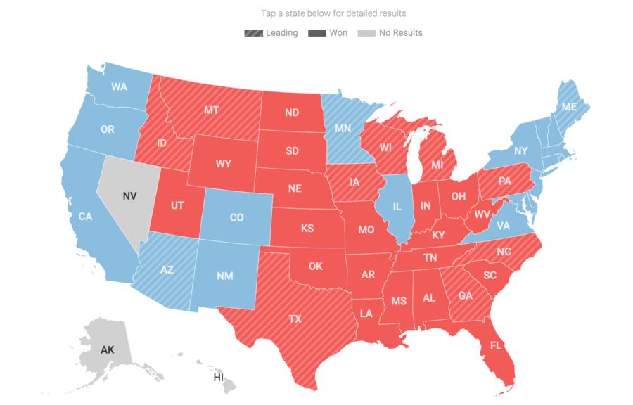 【美國國會大選更新】參院還剩5席未決