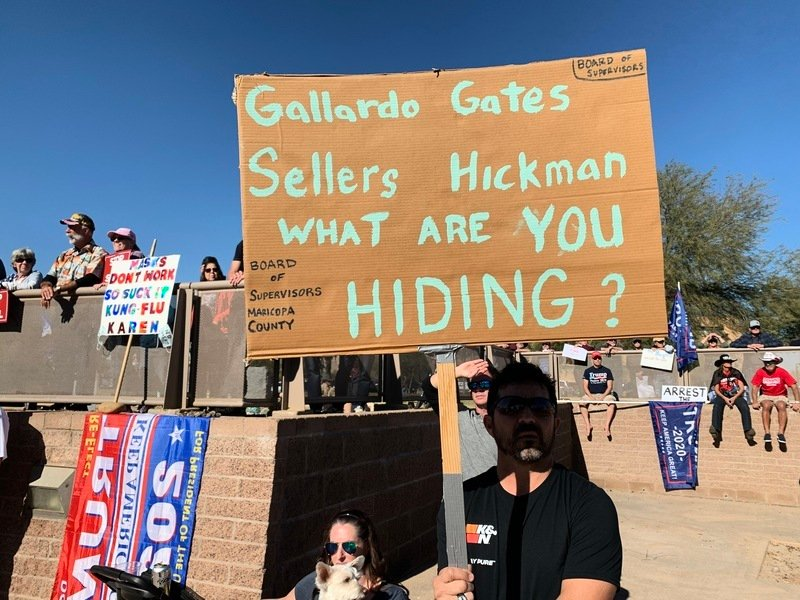 亞利桑那縣府拒交投票機 州參院與選舉人團齊反擊