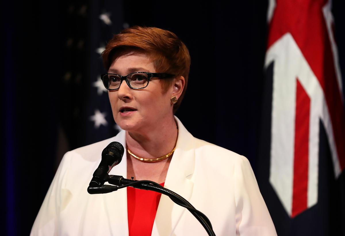 澳洲外交部長佩恩(Marise Payne)在接受澳媒採訪時表示,歡迎白宮呼籲重新調查中共病毒(俗稱武漢病毒、新冠病毒)的起源。(Justin Sullivan/Getty Images)