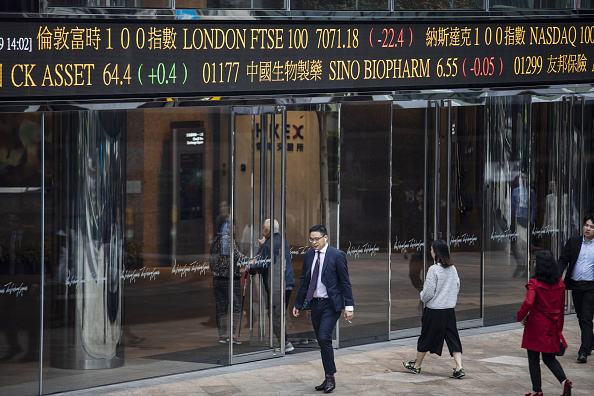 經濟學家指出,中國大陸經濟的高速增長時代將步入尾聲,未來十年的增長率恐降至2%。(Justin Chin/Getty Images)