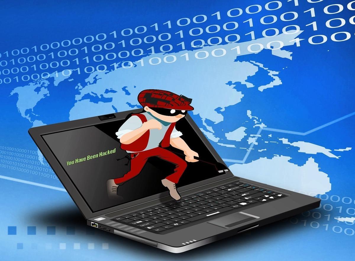 調查指出,56%台灣CEO表示。曾成為網絡攻擊的受害者,且認為,這種現象對企業來說已是「何時」會發生,而非「會不會」發生的問題。圖為黑客網絡攻擊示意圖。 (Pixabay)