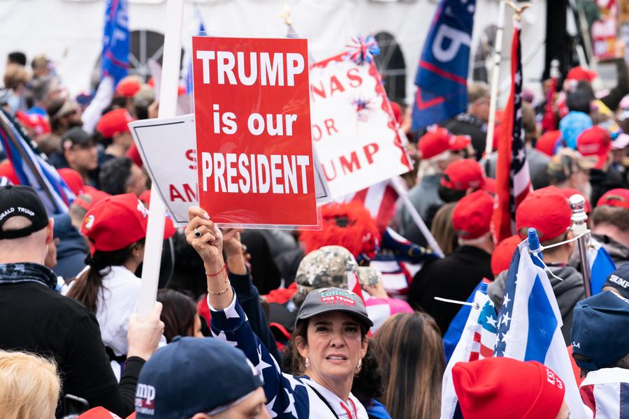 田雲:數十萬民眾華府挺特朗普 展示信仰與真相