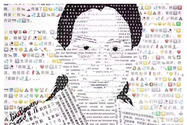 文章「發哨的人」──艾芬醫生的專訪在網上被刪,網民製作出各種版本應對網警刪帖。(網路圖片)