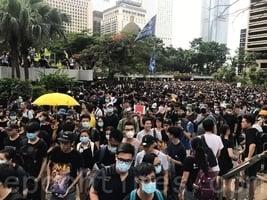 香港學生談投身反送中運動 落淚哽咽