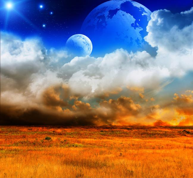 每當改朝換代時,總有天呈異象的徵兆,異象的出現是上天昭告世人趕快脫離黑暗,做出光明的選擇。(fotolia)