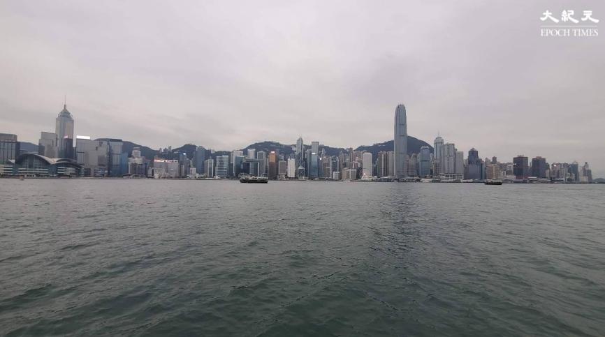 香港維多利亞港。(文苳晴/大紀元)