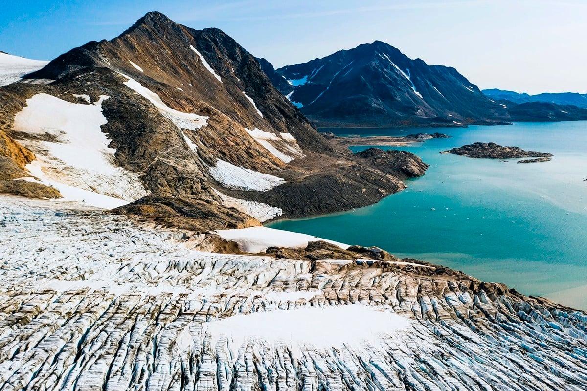為了防止中俄兩國在北極地區的勢力擴張,美國政府正打算向格陵蘭提供1,210萬美元的援助計劃,並在島上開設領事館。(Getty Images)
