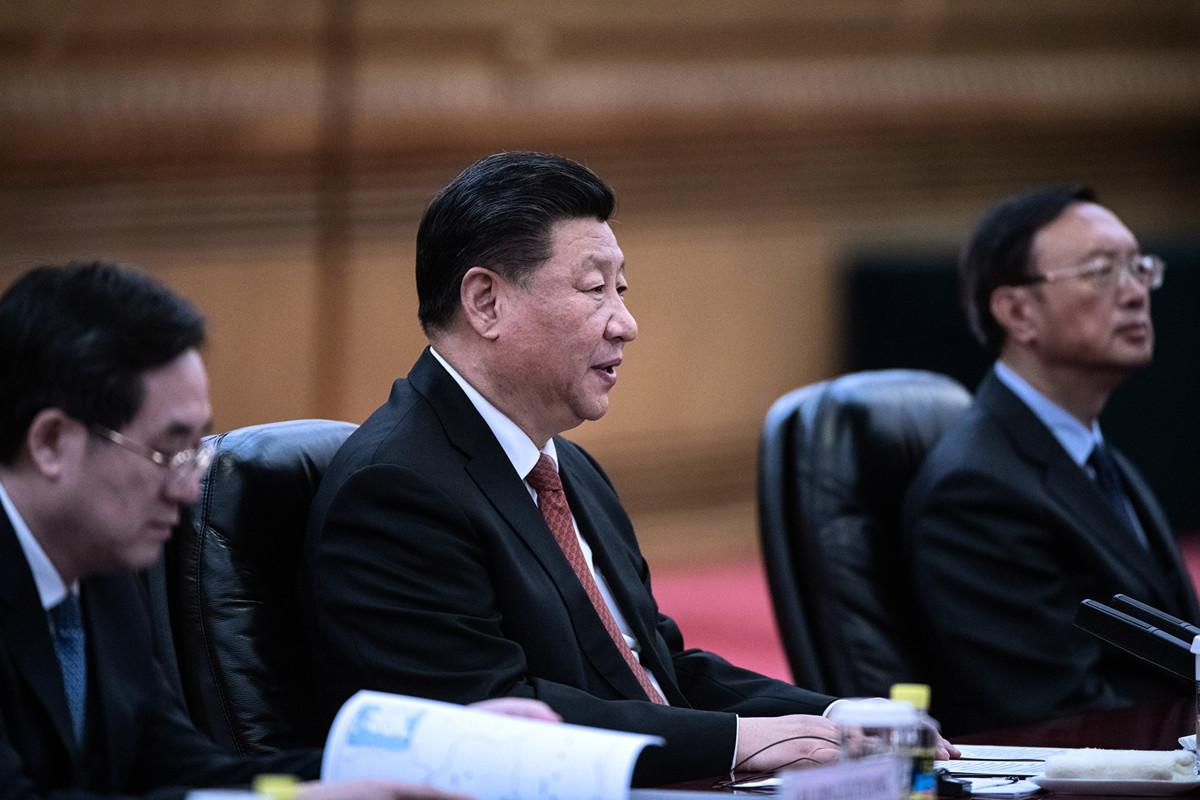 中國國家主席習近平9月3日在中央黨校公開講話,非常罕見地58次提到「鬥爭」一詞。圖為資料照片。(Fred Dufour – Pool/Getty Images)