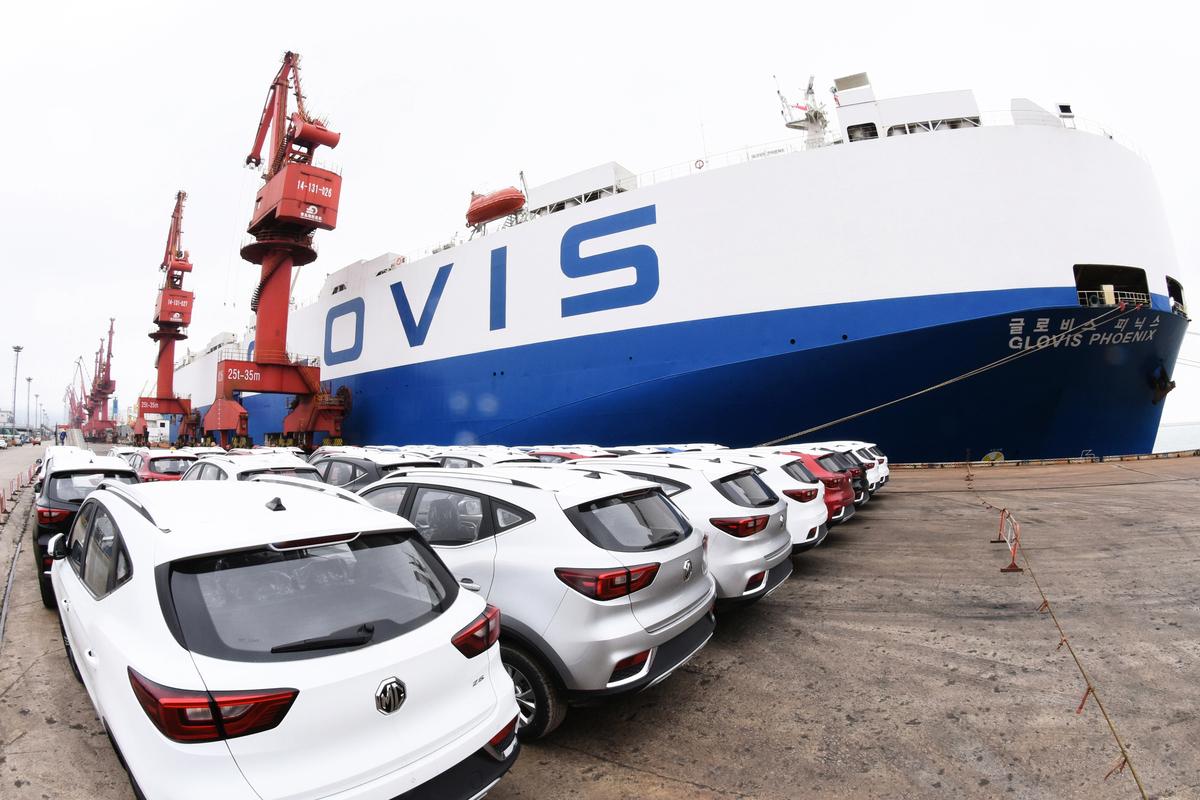 美國總統特朗普已於2月17日收到商務部進口汽車國家安全調查報告,將於90日內決定是否對進口汽車加徵國安關稅。(AFP/Getty Images)