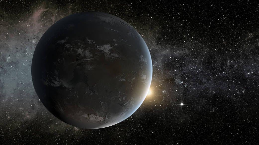 紐西蘭坎特伯雷大學(University of Canterbury)的天文學家發現了一顆特別罕見的超級地球。圖為NASA超級地球示意圖。(NASA Ames/JPL-Caltech/Tim Pyle)