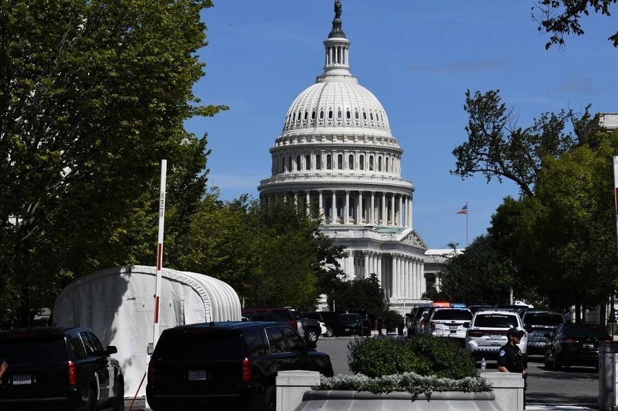 美國會大廈附近傳炸彈威脅 警方調查