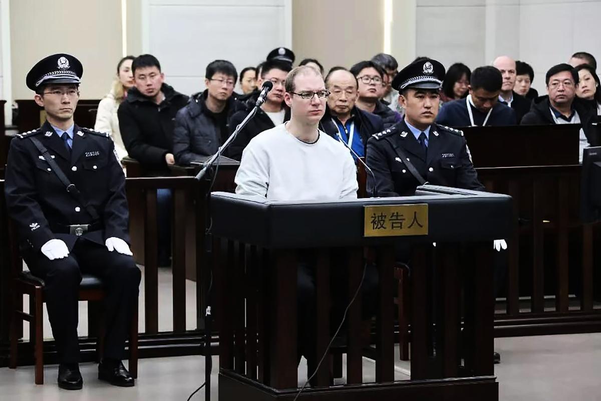 星期三(1月16日),美國國務院表示,中共對加拿大公民判處死刑是「出於政治動機」。圖為被判處死刑的謝倫伯格(Robert Lloyd Schellenberg)。(HANDOUT / HO / AFP)