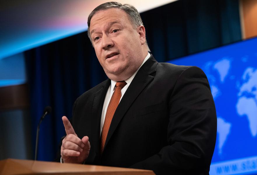 蓬佩奧:朝核威脅大幅減少前不會放鬆制裁