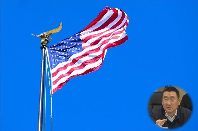 5月13日「世界法輪大法日」的前一天,美國國務卿布林肯宣佈,制裁一名迫害法輪功的中共官員——四川省成都市前610辦公室主任余輝。余輝是第一個被美國公開制裁的610辦公室主任。(大紀元合成圖片)