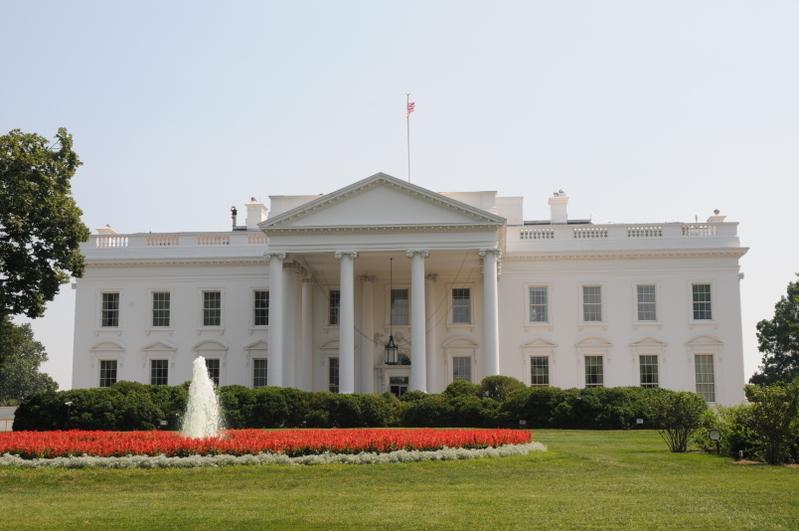 美國政府對北京的動作招數似乎接連不斷。白宮要求美國政府機構提供所有與中共相關的資金支出詳細情況。圖為美國白宮。(大紀元)