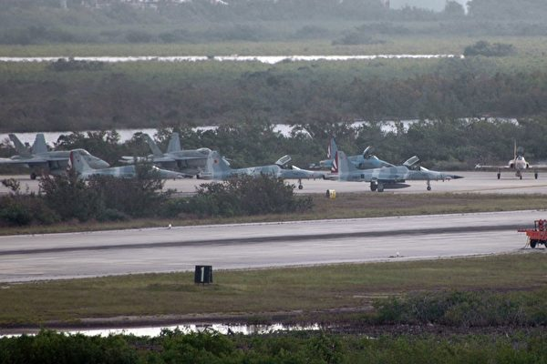 基韋斯特海軍航空站(Naval Air Station Key West)是美國南方聯合跨部門特遣部隊(Joint Interagency Task Force-South)所在地,該工作隊負責監視空中和海上的非法販運。(公有領域)