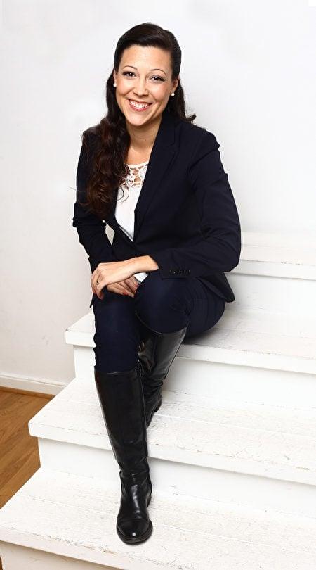 39歲的安德里亞·埃爾夫哈格(Andrea Elvhage),是電影製片公司Fenix Film的合夥創辦人。(由托比亞斯·埃爾夫哈格提供)