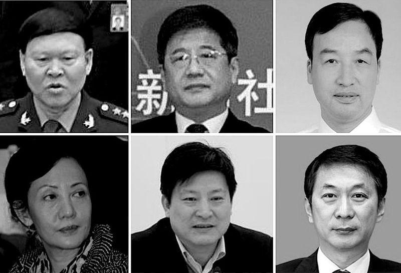 近年來,中共官員「非正常死亡」的現象頻被曝光。(大紀元合成)