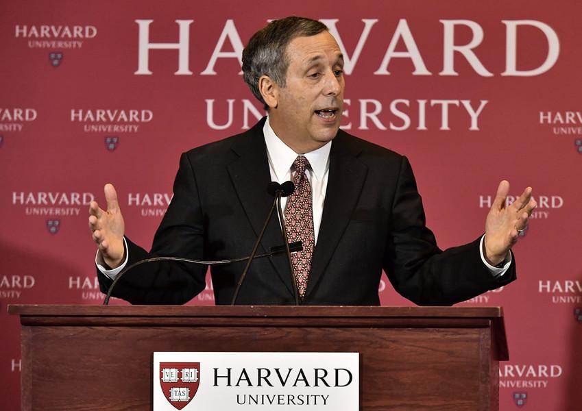 哈佛大學校長夫婦感染中共病毒