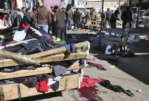 伊拉克突發兩宗自殺炸彈客襲擊 逾32人死