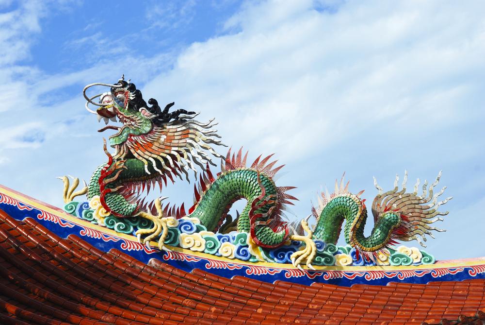 「龍」在中國社會裏,是一種尊貴、吉祥、莊嚴、神聖的象徵。(Shutterstock)