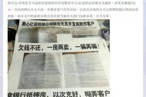 河南億諾爆雷 海外華人揭後台是政法高官(上)