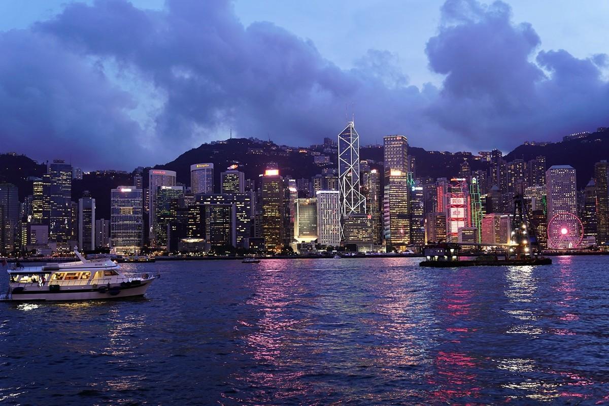 圖為香港維多利亞港。(pixabay)