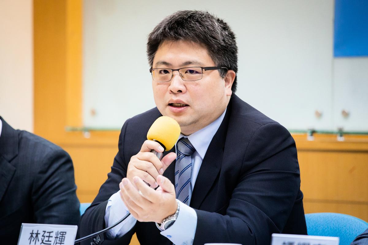 台灣國際法學會副秘書長林廷輝26日表示,無法證實王立強供稱助韓國瑜捐贈為真,但中共滲透介選是事實。(陳柏州)