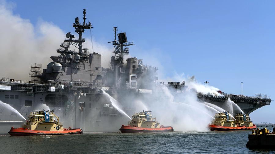 報告:美海軍應加強戰鬥訓練 減少多元化培訓