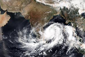 印度將遭近5年最強氣旋襲擊 撤離80萬人