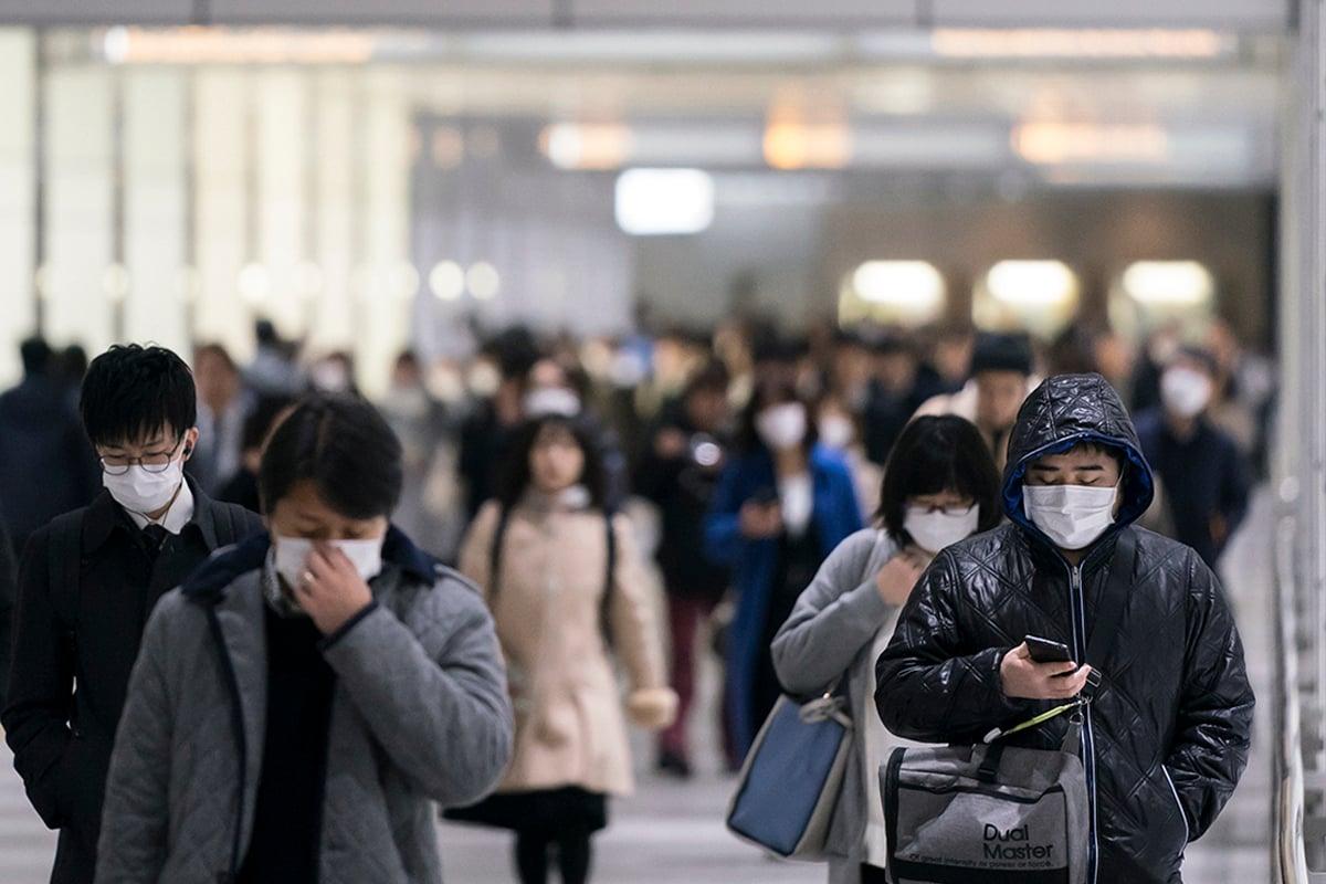 中共肺炎疫情在多國紛爆社區感染,民眾該如何預防?(Tomohiro Ohsumi/Getty Images)