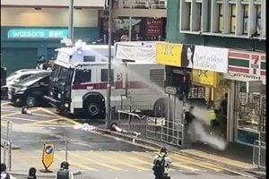 記者遭襲擊 國際記者聯盟憂香港媒體自由