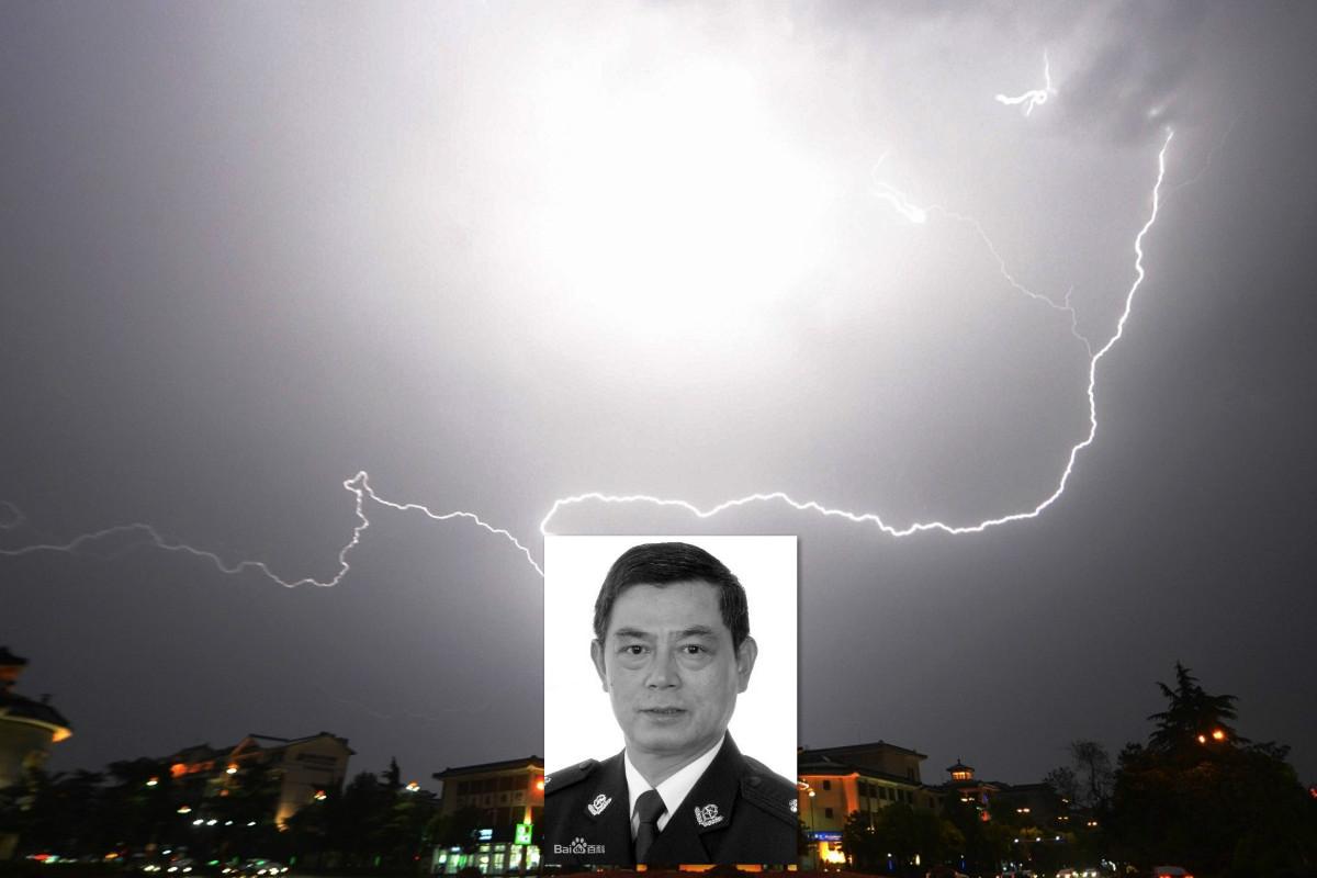 6月27日上午,退休一年半的黃山市公安局黨委原副書記、副局長錢豐在家中墜亡。(合成圖片)