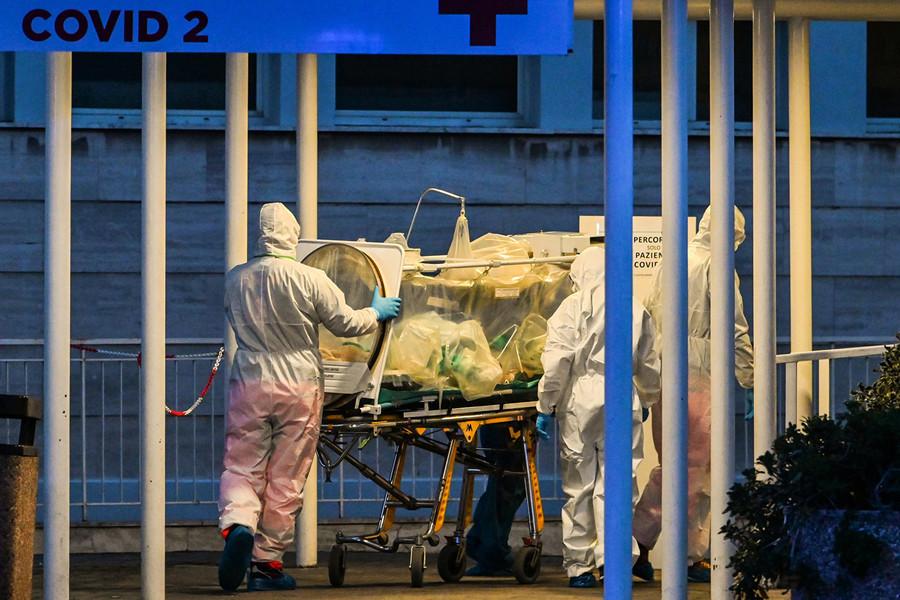 意大利中共肺炎死亡破二千 死者無法儘快下葬