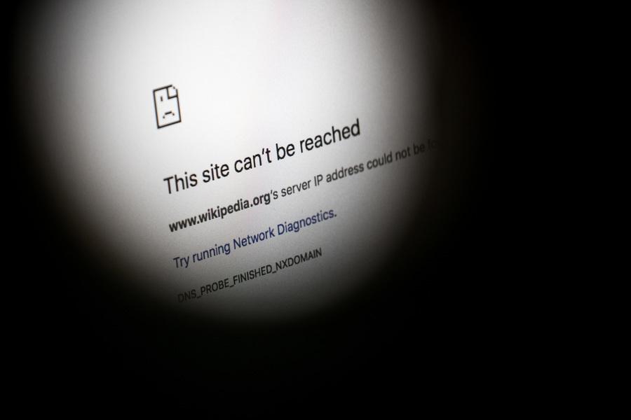 「維基百科」在大陸遭中共全面封鎖