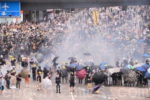 港府暴力鎮壓反送中民眾 海內外華人譴責