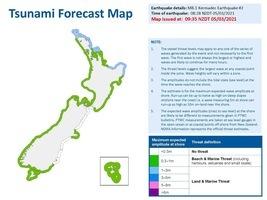 【更新】紐西蘭3次強震至8.1級 發海嘯警報
