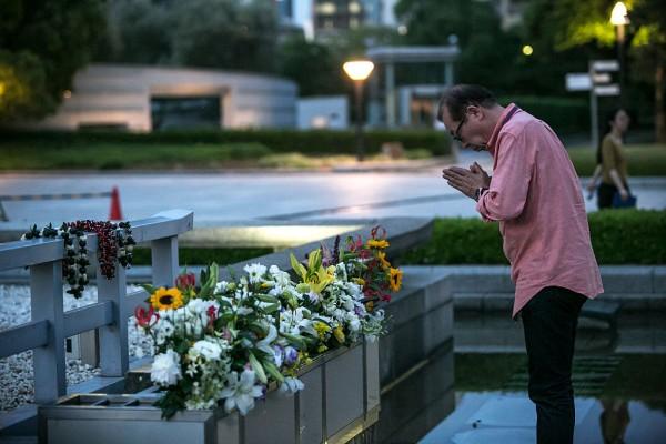 日本廣島準備奧巴馬的歷史性到訪。(Getty Images)