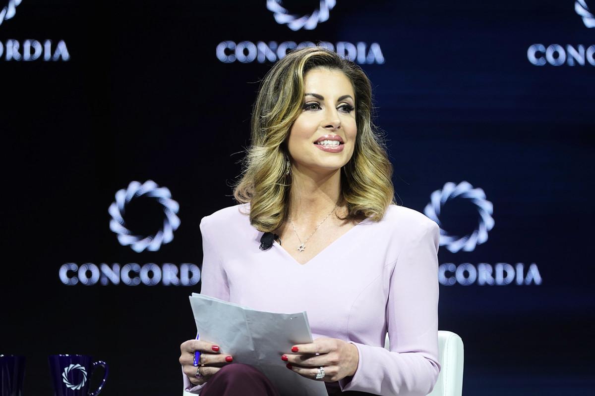美國國務院發言人摩根·奧塔格斯(Morgan Ortagus)2019年在紐約出席一個公開活動。(Riccardo Savi/Getty Images for Concordia Summit)