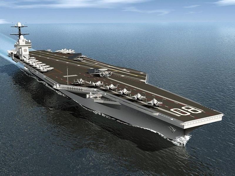 美海軍未來兩艘福特級航母更具「致命性」