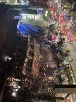 福建泉州隔離點酒店突然坍塌 數十人被埋