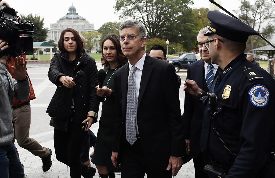 美駐烏克蘭特使在總統彈劾調查中作證