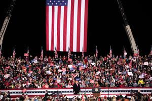 特朗普佐州演講:為「美國優先」而戰 拯救美國
