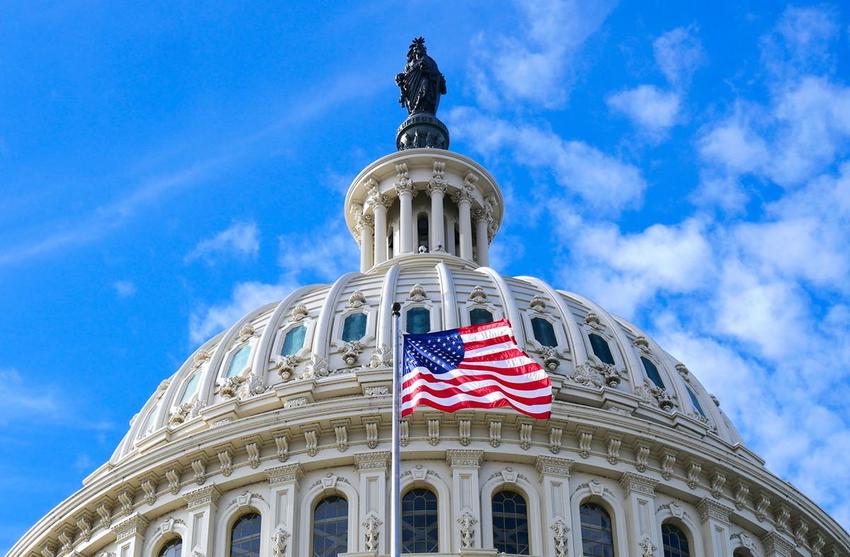 圖為美國國會大廈。(李辰/大紀元)