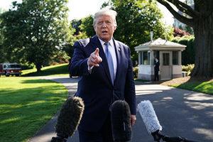 特朗普致函世衛 要求其三十天內改革否則停資助