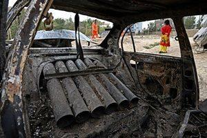 火箭彈襲喀布爾機場 美軍防禦系統成功攔截