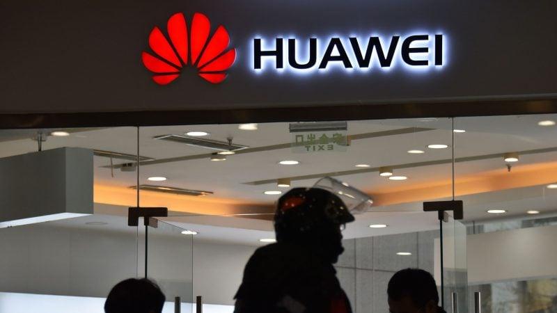 印度禁止國營企業在升級網絡時使用包括華為在內的中國產品。(GREG BAKER/AFP/Getty Images)