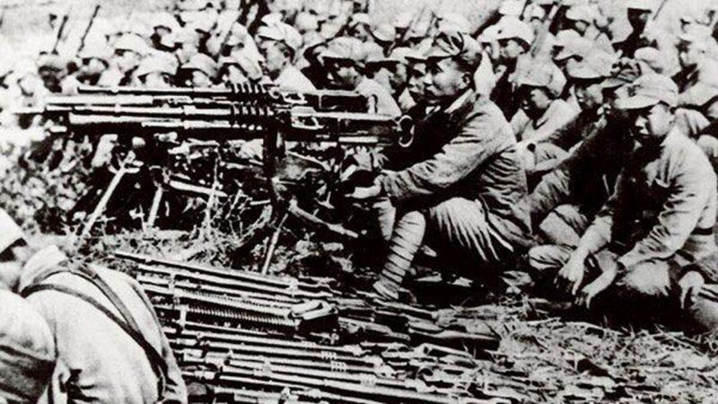 皖南事變前的新四軍部隊。(維基百科/公有領域)