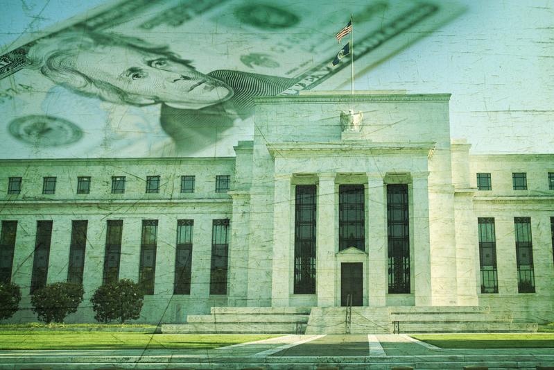 位於華盛頓DC的美國聯邦儲蓄會大廈。(Fotolia)